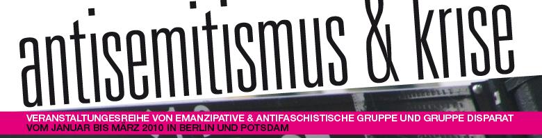 Antisemitismus & Krise