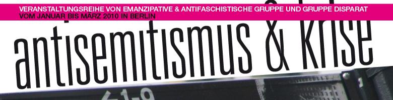 Antisemitismus&Krise